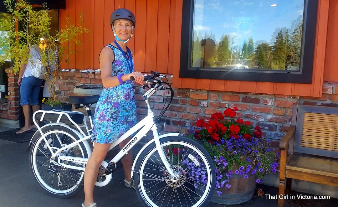 Pedego-Victoria-Shopping-That-Girl-In-Victoria-British-Columbia (2)