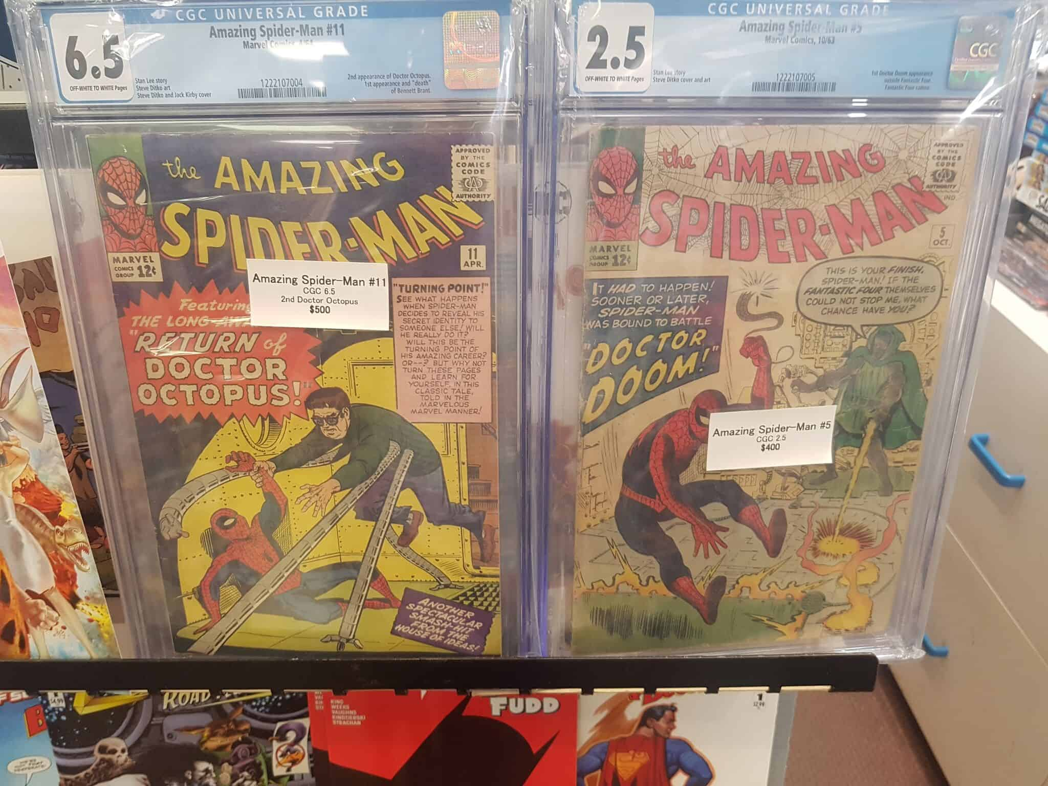 Victoria Comic books