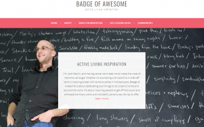 Featured on 'Badge of Awesome'