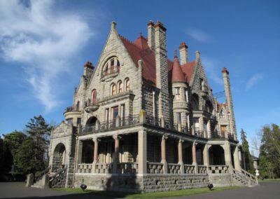 Craigdarroch castle located in Victoria, bc