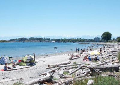 Sandy Beach in Victoria, bc called Willows